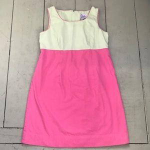 Lilly Pulitzer color block sleeveless dress sz 12